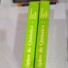 Libros de segunda mano de Ciencias: PRINCIPIOS DE LA QUÍMICA 2 TOMOS (SEGUNDA EDICIÓN) RICHARD E. DICKERSON Y OTROS. Lote 95399727