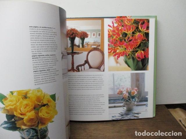 Libros de segunda mano: flores ideas frescas para decorar la casa, Paula Pryke - 2000 - Ed- RBA - Foto 4 - 263100095