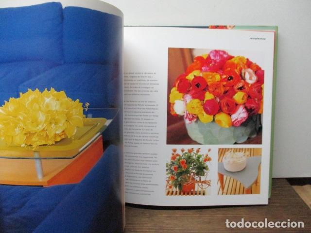 Libros de segunda mano: flores ideas frescas para decorar la casa, Paula Pryke - 2000 - Ed- RBA - Foto 5 - 263100095