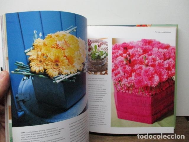 Libros de segunda mano: flores ideas frescas para decorar la casa, Paula Pryke - 2000 - Ed- RBA - Foto 6 - 263100095