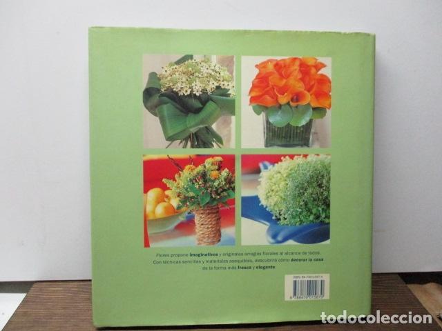 Libros de segunda mano: flores ideas frescas para decorar la casa, Paula Pryke - 2000 - Ed- RBA - Foto 11 - 263100095