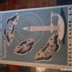 Libros de segunda mano: COSTUMBRES DE LOS INSECTOS. J. H. FABRE. ESPASA - CALPE, S.A, 1944. TAPA BLANDA. 297 PAGINAS. 270 GR. Lote 95900743