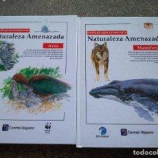 Libros de segunda mano: NATURALEZA AMENAZADA -- VOLUMEN 1 Y 2 -- MAMIFEROS Y AVES -- SOPEC EDITORIAL 1996 --. Lote 206313141