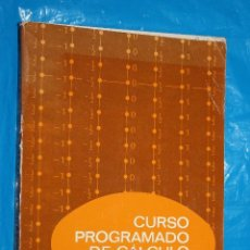 Libros de segunda mano de Ciencias: CURSO PROGRAMADO DE CALCULO II, LA INTEGRAL DEFINIDA, EDITORIAL REVERTE1972. Lote 95954339