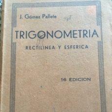 Libros de segunda mano de Ciencias: CUADERNILLO DE TRIGONOMETRÍA. Lote 96006332