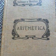 Libros de segunda mano de Ciencias: ARITMÉTICA 1940. SALINAS Y BENITEZ. Lote 96006752