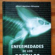 Libros de segunda mano: ENFERMEDADES DE LOS REPTILES - ALBERT MARTINEZ SILVESTRE - ISBN: 84-607-6510-5. Lote 96139639