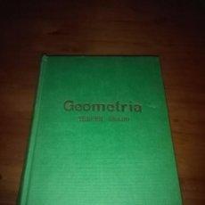 Libros de segunda mano de Ciencias: GEOMETRÍA TERCER GRADO. EDICIONES BRUÑO. EST4B1. Lote 96199159