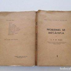 Libros de segunda mano de Ciencias: L. P. M. MAIA. PROBLEMAS DE MECÂNICA I. RMT82597. . Lote 96310003