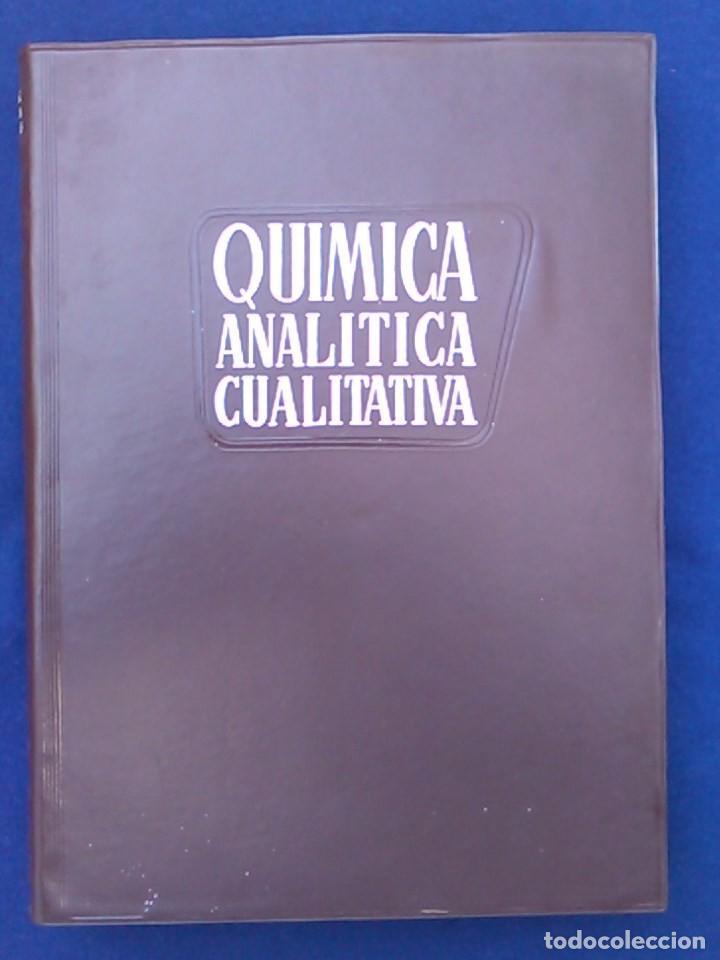 LIBRO QUÍMICA ANALÍTICA CUALITATIVA TEORÍA Y SEMIMICROMÉTODOS. BURRIEL, LUCENA Y ARRIBAS. PARANINFO. (Libros de Segunda Mano - Ciencias, Manuales y Oficios - Física, Química y Matemáticas)