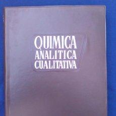 Libros de segunda mano de Ciencias: LIBRO QUÍMICA ANALÍTICA CUALITATIVA TEORÍA Y SEMIMICROMÉTODOS. BURRIEL, LUCENA Y ARRIBAS. PARANINFO.. Lote 96413291