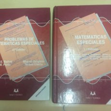 Libros de segunda mano de Ciencias: MATEMATICAS ESPECIALES Y PROBLEMAS ESPECIALES. 2 TOMOS. 2ª EDICIÓN U. N. E. D. AÑO 1996. Lote 96535122