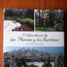 Libros de segunda mano: EL LIBRO DE ORO DE LAS PLANTAS Y LOS JARDINES. Lote 96674971