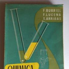Libros de segunda mano de Ciencias: QUÍMICA ANALÍTICA CUALITATIVA. Lote 96681467