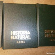 Libros de segunda mano: LIBROS BOTANICA BIOLOGIA NATURALEZA - HISTORIA NATURAL RAZAS 3 TOMOS MARIA DEL CARMEN ESBRI. Lote 97451631
