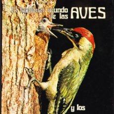 Libros de segunda mano: EL FABULOSO MUNDO DE LAS AVES Y LOS PECES - VIDA Y COSTUMBRES. Lote 97663603