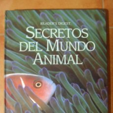 Livres d'occasion: SECRETOS DEL MUNDO ANIMAL - READER'S DIGEST - 2060GR - 432PAG. Lote 98019703
