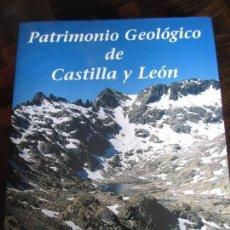 Libros de segunda mano: PATRIMONIO GEOLOGICO DE CASTILLA Y LEON. ENRESA, 2001. GRAN FORMATO. TAPA DURA CON SOBRECUBIERTA. 51. Lote 98039235