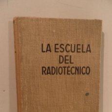 Libros de segunda mano de Ciencias: LA ESCUELA DEL RADIOTECNICO, EDITORIAL LABOR, XV, REPARACIONES Y AJUSTES EN RECEPTORES DE TELEVISION. Lote 98093151