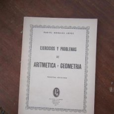 Libros de segunda mano de Ciencias: LIBRO EJERCICIOS Y PROBLEMAS DE ARITMÉTICA D. MANUEL GARCIA ARDURA 1952 3ª ED. GRANADA L-15749. Lote 98482119