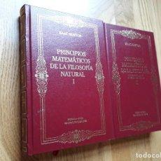 Libros de segunda mano de Ciencias: PRINCIPIOS MATEMÁTICOS DE LA FILOSOFÍA NATURAL (DOS TOMOS) / ISAAC NEWTON / RBA, 2002. Lote 128246926