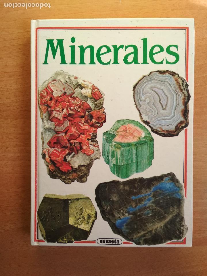 MINERALES SUSAETA JAROSLAV SVENEK ILUSTRADO POR LADISLAV PROS (Libros de Segunda Mano - Ciencias, Manuales y Oficios - Paleontología y Geología)