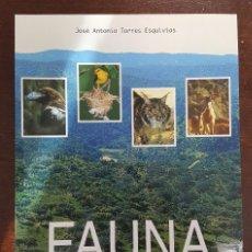 Libros de segunda mano: FAUNA DE SIERRA ALBARRANA - HORNACHUELOS CÓRDOBA. Lote 99132156