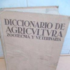 Libros de segunda mano: DICCIONARIO DE AGRICULTURA ZOOTECNIA Y VETERINARIA TOMO 1 EDITORA SALVAT AÑO 1939 ILUSTRADO. Lote 98936423