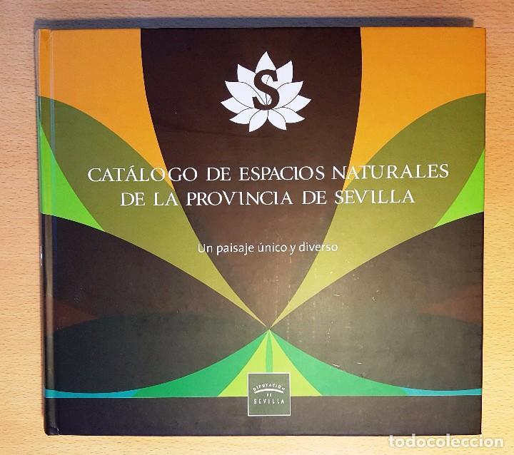 CATÁLOGO DE ESPACIOS NATURALES DE LA PROVINCIA DE SEVILLA. DIPUTACIÓN DE SEVILLA (Libros de Segunda Mano - Ciencias, Manuales y Oficios - Biología y Botánica)