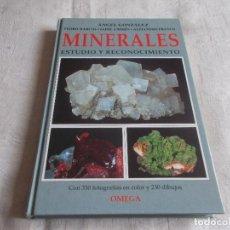 Libros de segunda mano: MINERALES ESTUDIO Y RECONOCIMIENTO. Lote 99213931