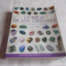 Livres d'occasion: LA BIBLIA DE LOS CRISTALES JUDY HALL. Lote 197246297
