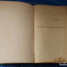 Libros de segunda mano de Ciencias: CURSO DE MATEMATICAS, TOMO I,PARA ESTUDIANTES DE FISICA, QUIMICA E INGENIERIA, IÑIGUEZ Y ALMECH,1954. Lote 99350279