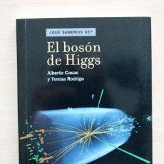Second hand books of Sciences - A.Casas y T.Rodrigo - El bosón de Higgs - CSIC Catarata - 99365523
