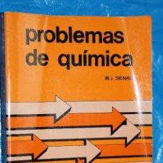 Livros em segunda mão: PROBLEMAS DE QUIMICA POR M.J. SIENKO, EDITORIAL REVERTE 1977. Lote 99469287