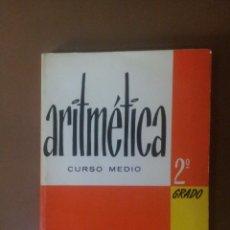 Libros de segunda mano de Ciencias: ARITMETICA 2º GRADO. Lote 99639267