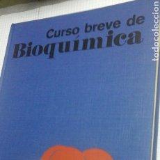 Libros de segunda mano de Ciencias: CURSO BREVE DE BIOQUIMICA.OMEGA.1976. Lote 99669315