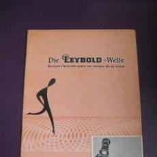 Libros de segunda mano de Ciencias: DIE LEYBOLD WELLE REVISTA FISICA Nº2 1960 - 24 PAGS. Lote 99819719