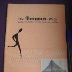 Libros de segunda mano de Ciencias: DIE LEYBOLD WELLE REVISTA FISICA NºS 13-14 1964 - 48 PAGS. Lote 99819843
