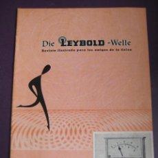 Libros de segunda mano de Ciencias: DIE LEYBOLD WELLE REVISTA ILUSTRADA AMIGOS FISICA Nº1 1960 - 24 PAGS. Lote 99819971