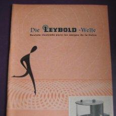Libros de segunda mano de Ciencias: DIE LEYBOLD WELLE REVISTA ILUSTRADA AMIGOS FISICA NºS 7-8 1962 - 48 PAGS. Lote 99820035