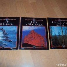Libros de segunda mano: LOTE DE TRES LIBRITOS DE SM ECOLECCION TIERRAVIVA. Lote 100173191
