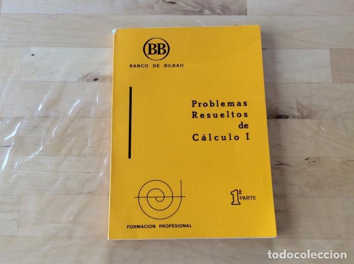 PROBLEMAS RESUELTOS DE CÁLCULO I (Libros de Segunda Mano - Ciencias, Manuales y Oficios - Física, Química y Matemáticas)