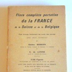 Libros de segunda mano - FLORE COMPLETE PORTATIVE DE LA FRANCE DE LA SUISSE ET DE LA BELGIQUE - G. BONNIER Y G DE LAYENS - 100269459
