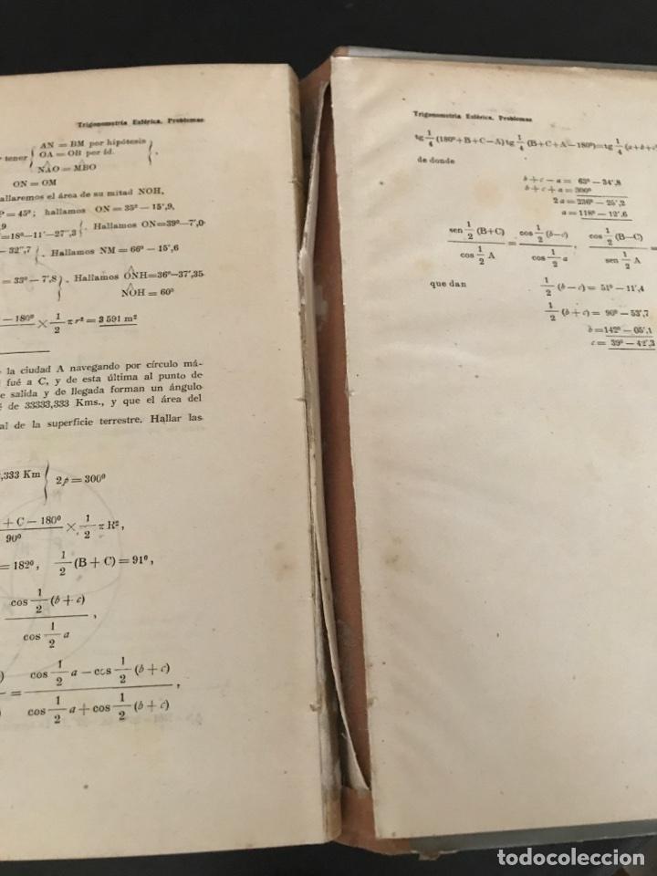 Libros de segunda mano de Ciencias: Trigonometría rectilínea y esférica. I. FOSSI - Foto 4 - 100306022