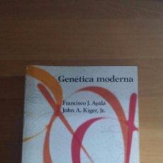 Libros de segunda mano: GENÉTICA MODERNA 1984. Lote 100397419