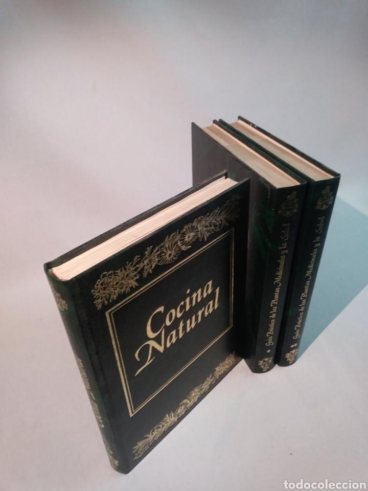Libros de segunda mano: GUÍA PRÁCTICA DE LAS PLANTAS MEDICINALES Y LA SALUD + COCINA NATURAL - Foto 3 - 101091083