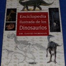 Libros de segunda mano: ENCICLOPEDIA ILUSTRADA DE LOS DINOSAURIOS - DAVID NORMAN - SUSAETA (1992). Lote 101173095