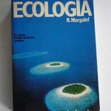 Livres d'occasion: ECOLOGÍA - LIBRO RAMÓN MARGALEF PLANETA TIERRA VIDA NATURALEZA CIENCIAS ECOLOGISMO BIOLOGÍA BIOSFERA. Lote 101260787