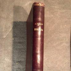 Libros de segunda mano: BIOLOGIA GENERAL (TOMO II), POR DR.S. ALVARADO (A.1958). Lote 101806606