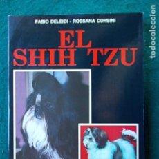 Libros de segunda mano: AMPLIO LIBRO DE LOS PERROS SHIH TZU. Lote 101856203